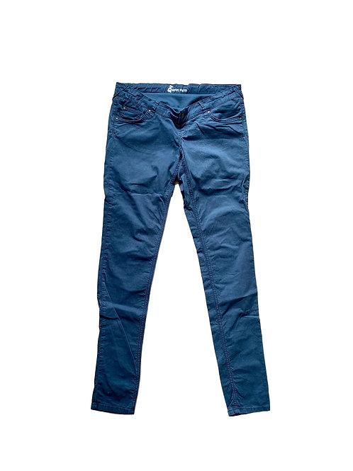 Blauwe broek -Queen Mum - 30 (69.9)