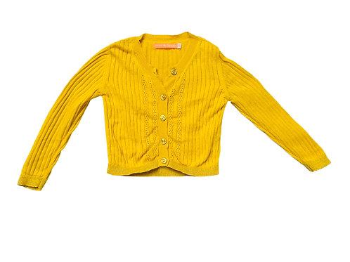 Cardigan geel - Fred & Ginger (519)