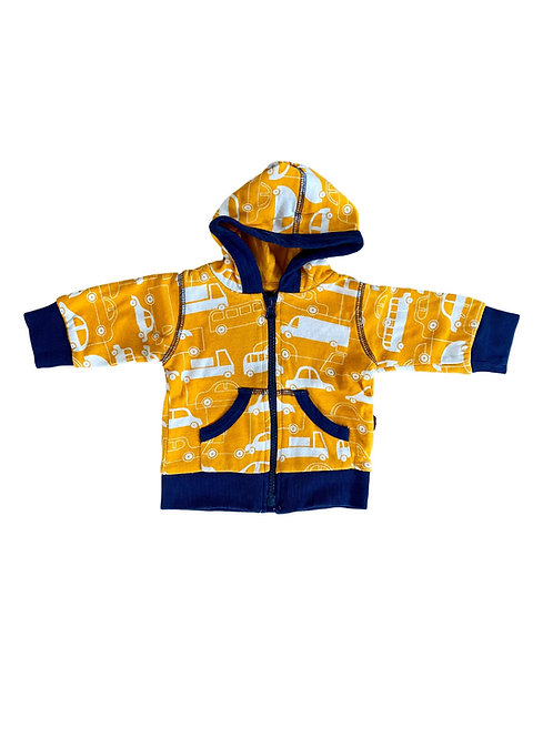 Sweater met rits - Maxomorra - 50/56 (4861)