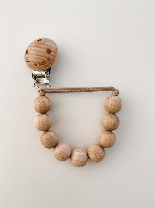 Pacifier Clip ANNA - all wood