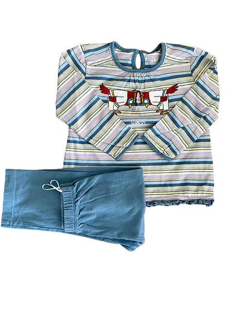 Pyjama (2-deling) - Woody - 92 (352)