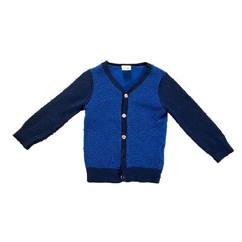 Blauwe cardigan - FUB (101)