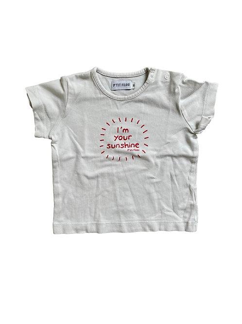 T-shirt - P'tit Filou - 80 (3.97)