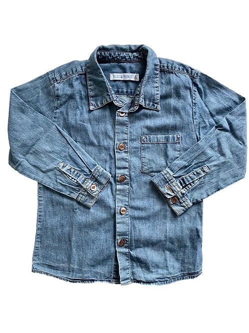 Jeans hemd - Filou & Friends - 104 (57.24)