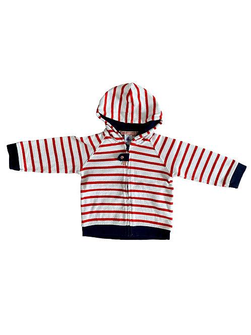 Sweater met rits - Petit Bateau - 74 (4855)
