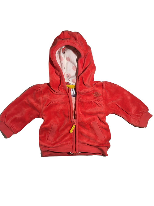 Hoodie rood - Babyface (artikel 628)