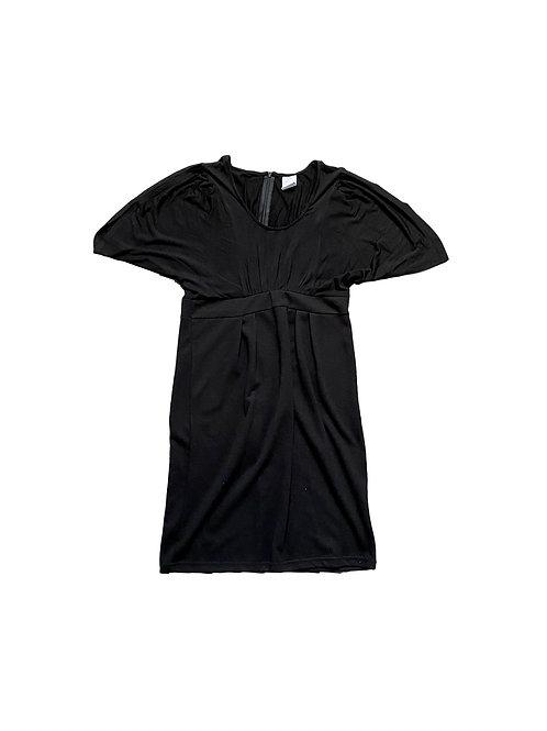 Zwarte tricot jurk -Mamalicious - 36 (2070)