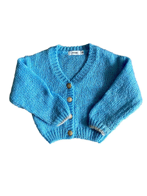 Blauwe knit - Filou & Friends - 12m (91.6)