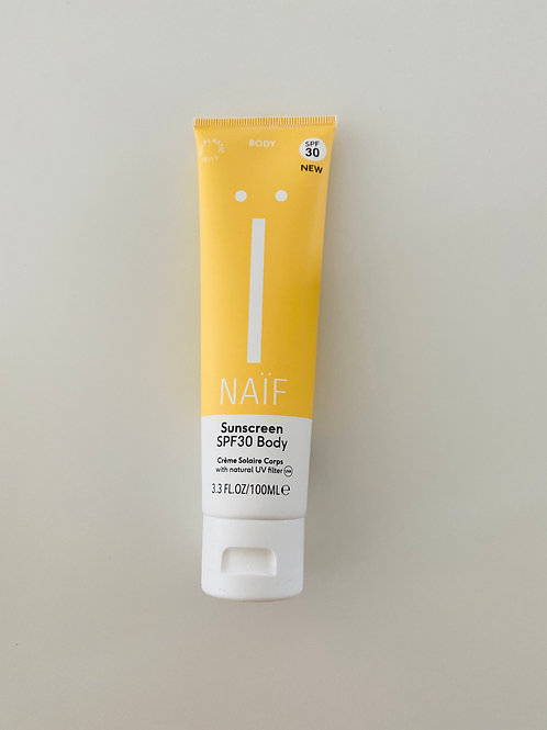 Naïf Natuurlijke zonnebrandcrème lichaam SPF30