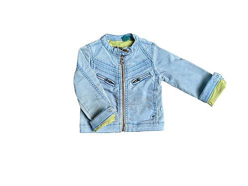Jeans jasje met rits - CKS - 92 (2111)