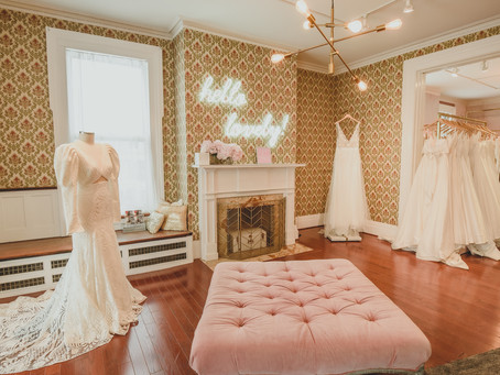 Say Yes to the Stress-Free Dress at Lovely Bride