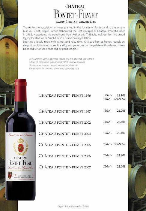 Saint Emilion wine chateau Pontet-Fumet