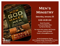 Men's Ministry full page