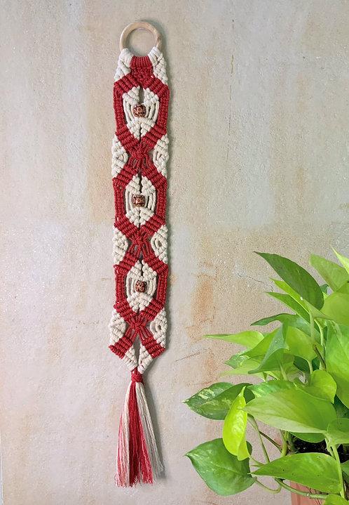 Red & White Barrel hanging