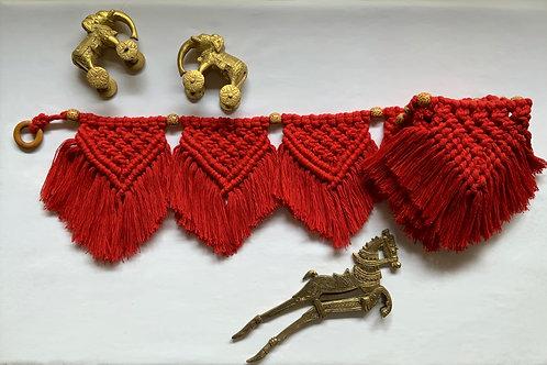 Red Bunting Toran