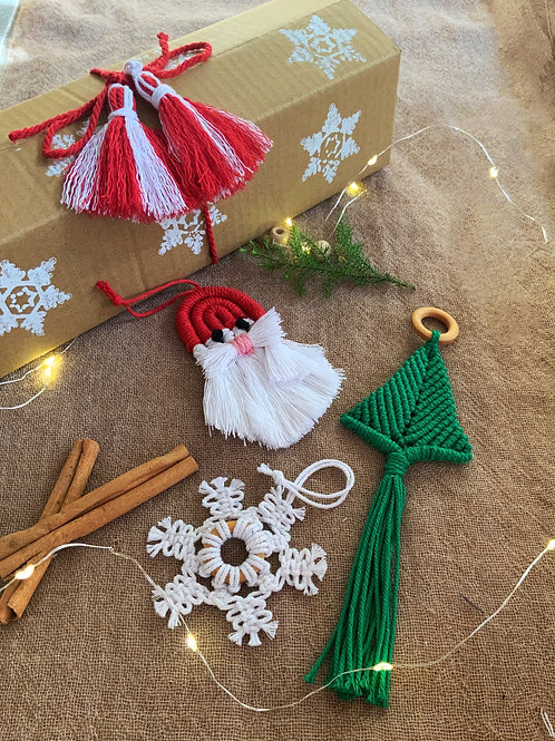 Christmas Ornaments (Box of 3)