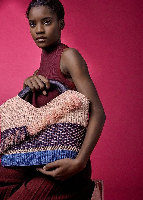 A.A.K.S - Oroo Natural Handwoven Raffia Bag