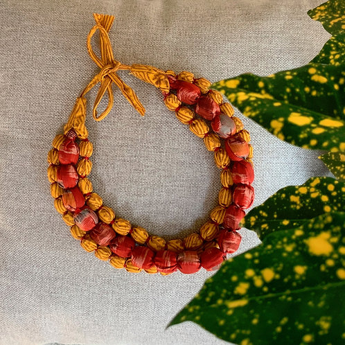 Saffron Necklace