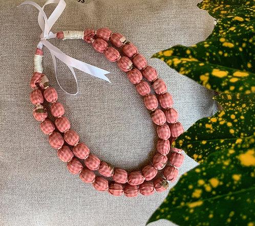 Pink Salt Necklace