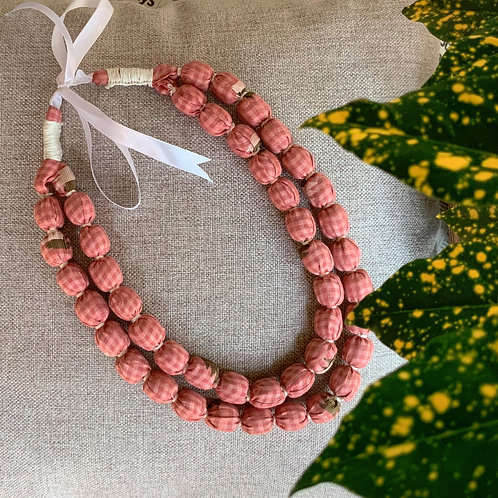 Pink Salt Necklace