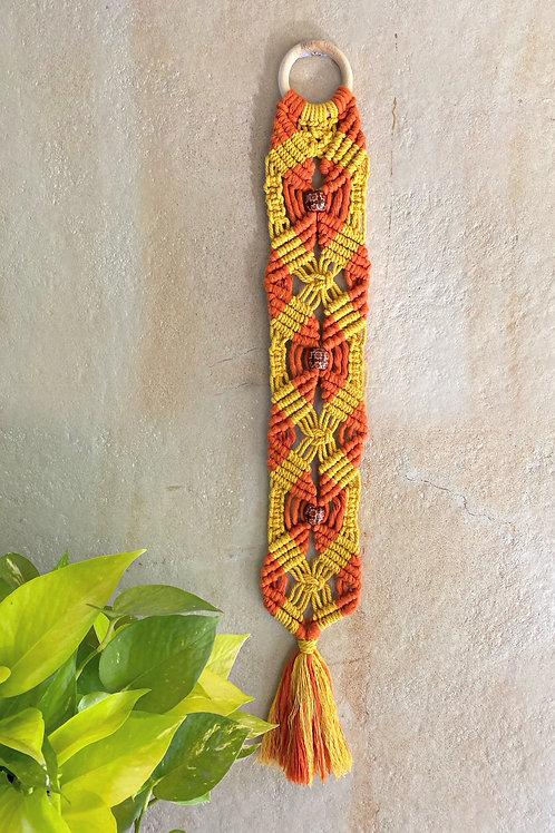 Yellow & Orange Barrel hanging