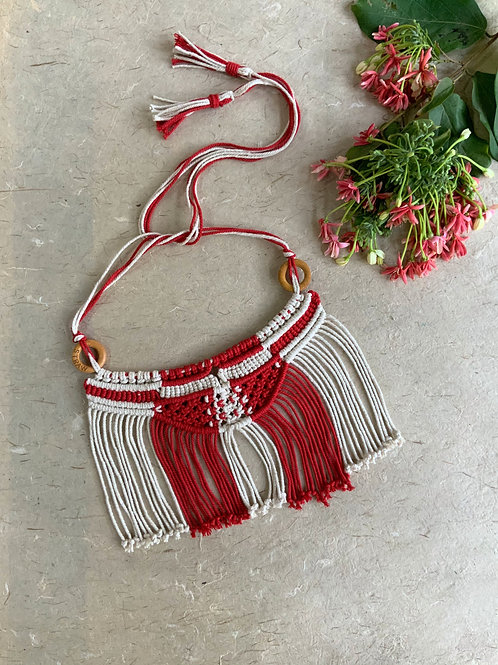 Masai Choker Red