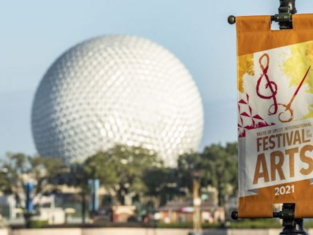 Grab Your Paintbrushes! Taste of EPCOT International Festival of the Arts Begins Today
