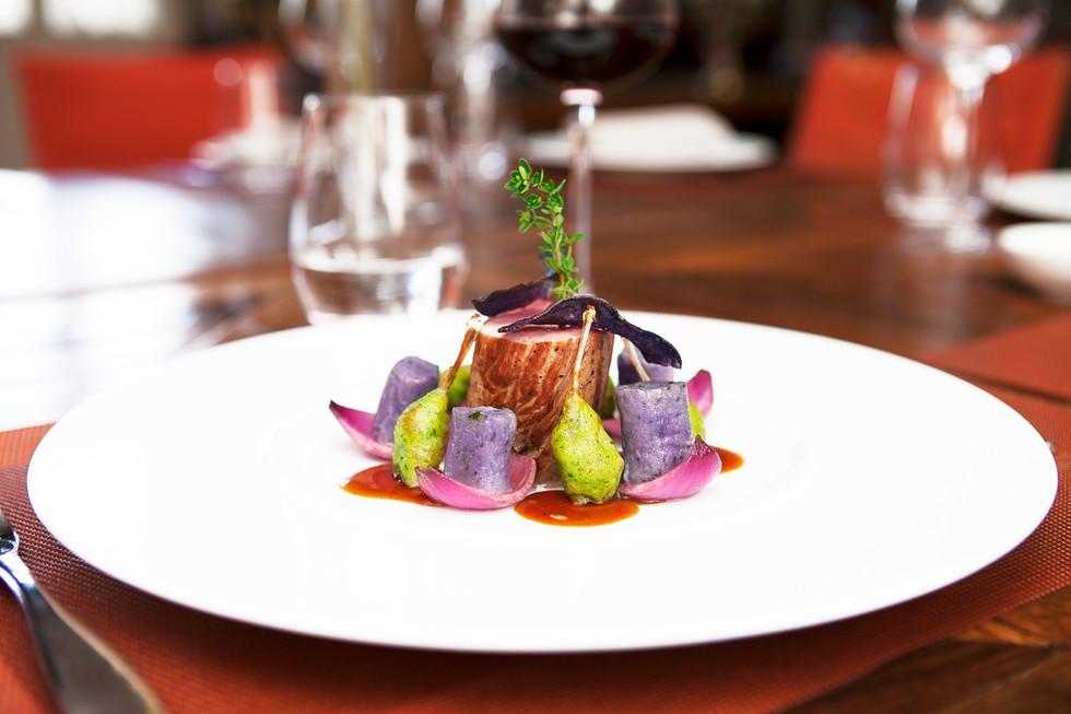 Plat Restaurant Gastronomique le Manoir