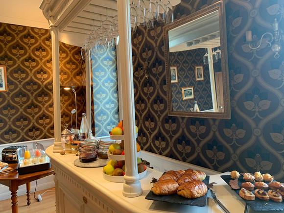 Le Manoir de la JAhotière Petit déjeuner