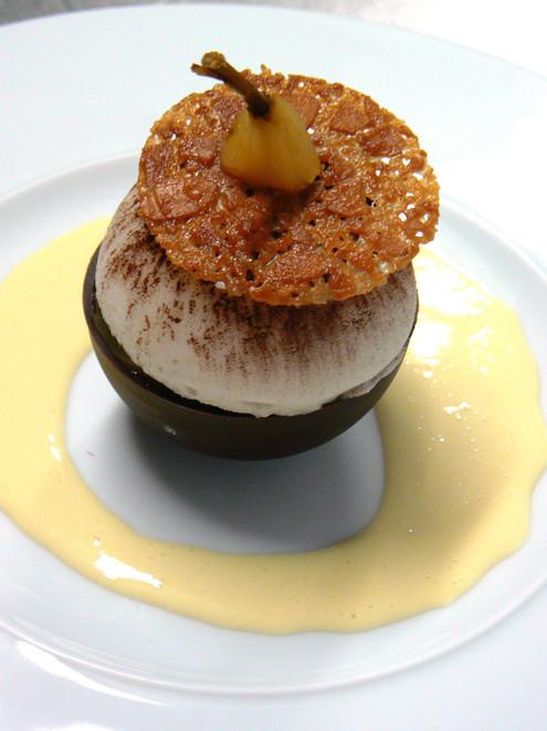 Dessert Restaurant Gastronomique le Mano