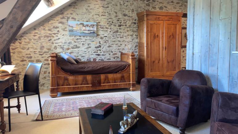 Hotel Manoir de la Jahotière Salon Suite