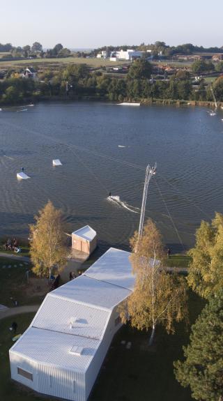Wake Park au lac de Nozay
