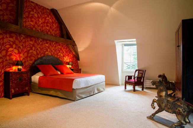 Hotel Manoir de la Jahotiere Chambre Sui