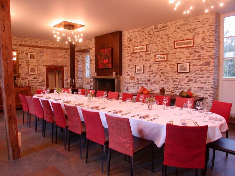Manoir de la Jahotiere Restaurant repas