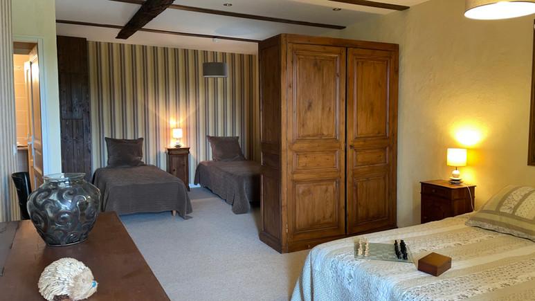 Hotel Manoir de la Jahotiere Chambre fam