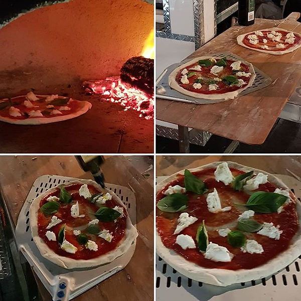 #pizzamargherita #napolipizza #woodfired