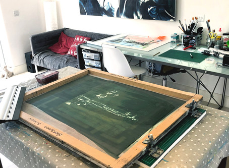 Lockdown Wednesday Home Screen Print Studio