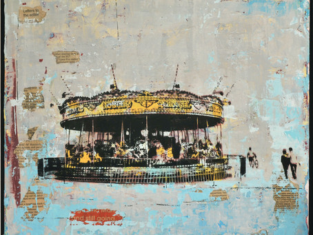 """""""Brexit Merry Go Round"""" Dropped off at the Gallery Today."""