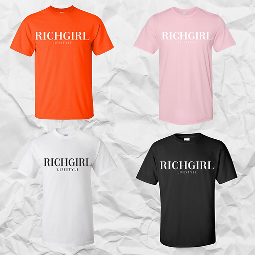 Signature RICHGIRL  T-shirt