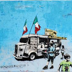 Bournemouth Burrito Van
