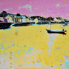 June High Tide, Parrog, Newport Pembs.