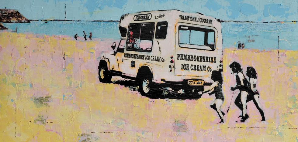 Tenby Ice Cream Van 66.5cm x 66.5cm.jpg