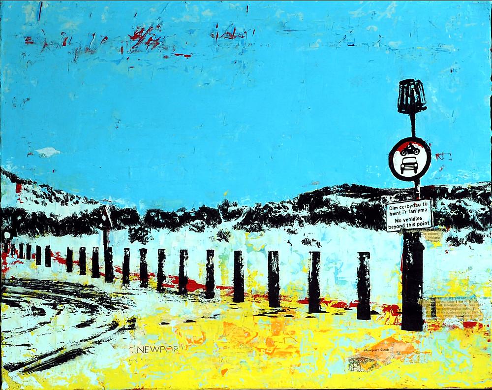 Dim Cerbydau, Newport Sands, Pembrokeshire