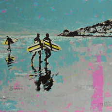 Surfers, Broad Haven