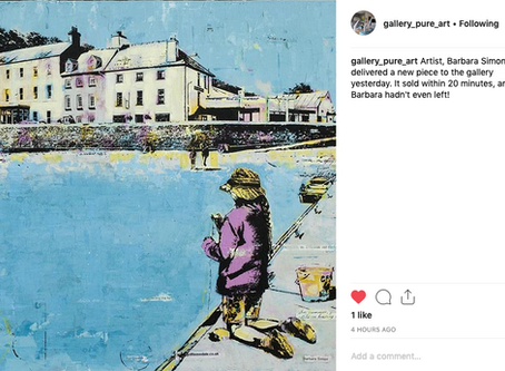 Instagram Post Pure Art Gallery