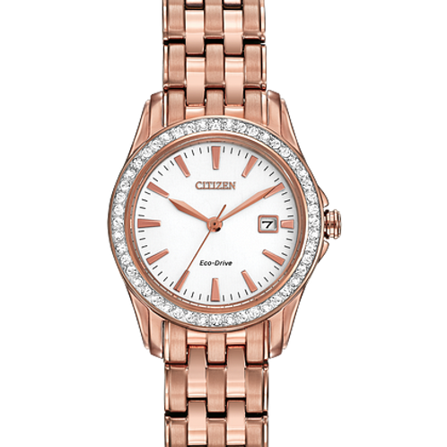 Silhouette Crystal Watch