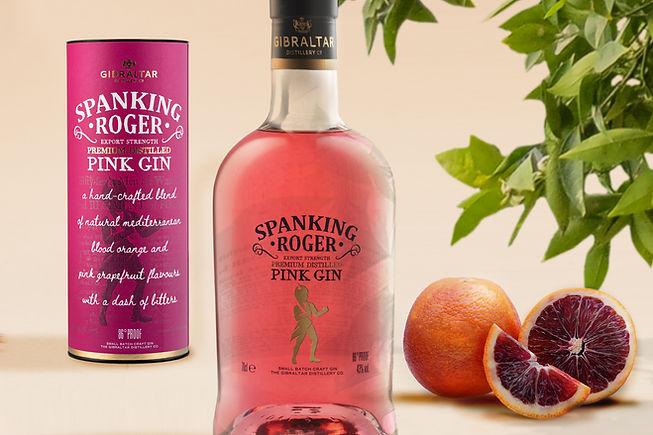 PINK GIN - Gibraltar Gin Distillery Tours - Gibraltar Distillery Co