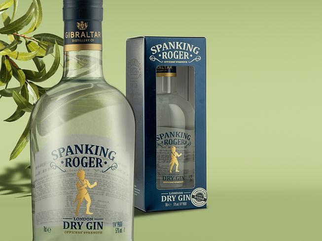Spanking Roger - Gibraltar Gin Distillery Tours - Gibraltar Distillery Co