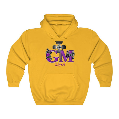 G.Eye.M Unisex Heavy Blend™ Hooded Sweatshirt