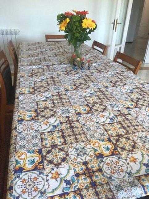 Toalha de mesa - azulejo